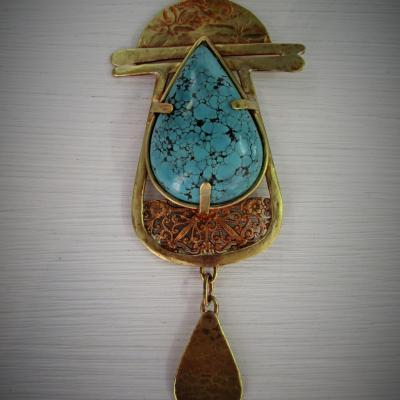 Laiton, Turquoise